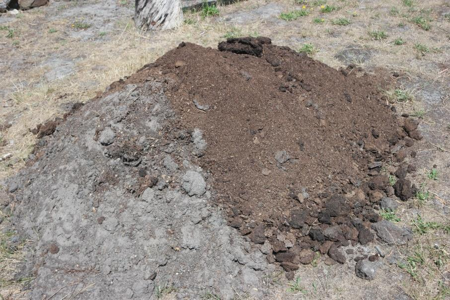Improve Soil  WITH Manure and Compost